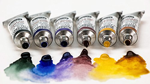 Schmincke Horadam Artists Watercolour Trial Set - Colour Selection 2 (6 x 5ml Tubes)