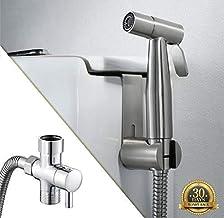 Bidet, Bidet Sprayer for Toilet, Handheld Cloth Diaper Sprayer, Bathroom Sprayer Kit Spray Attachment with Hose, Stainless...