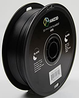 ABS 1.75mm Black ABS 3D Printer Filament - 1kg Spool (2.2 lbs)
