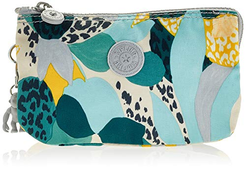 Kipling Creativity L, Porte-Monnaie Femme, Multicolore (Urban Jungle), 18.5x11x1.5 Centimeters (B x H x T)