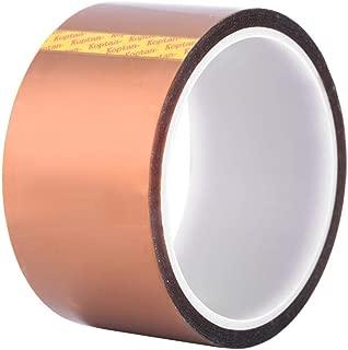 33m 高温テープ カプトン テープ 絶縁耐熱テープ 高耐熱テープ カプトン粘着テープ 接着剤テープ 絶縁 耐熱 高温耐熱性 (50mm)