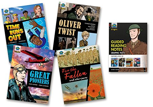 Project X Origins Graphic Texts: Dark Red+ Book Band, Oxford Level 20: Mixed Pack of 4