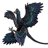 PNSO Dinosaur Museums Series & Prehistoric Animal Models (29 Gaoyuan The Microraptor)