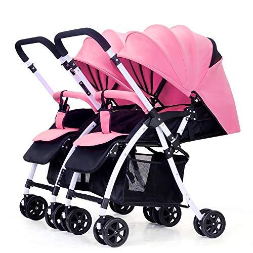 Poussettes de bébé jumeau, Chariot Infantile Double inversable