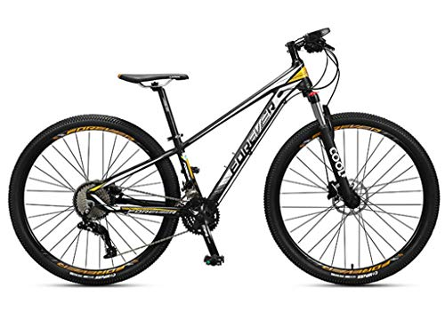 MQJ 36-Speed Mountain Bike 29-Inch Large Tires, Lightweight Variable Speed Cross-Country Bike Unisex, Double Oil Disc Brake Waterproof Saddle Adjustable Height a,a
