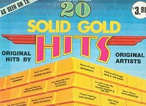 [LP Record] 20 Solid Gold Hits, - Original Hits by Original Artists