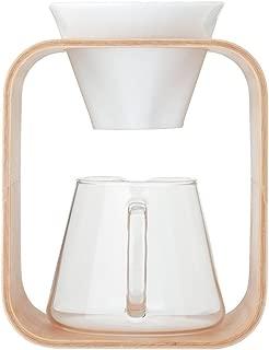 iwaki(イワキ) 耐熱ガラス SNOWTOP コーヒーポット & ドリッパー セット 「Barafu」 600ml K9966DS-M