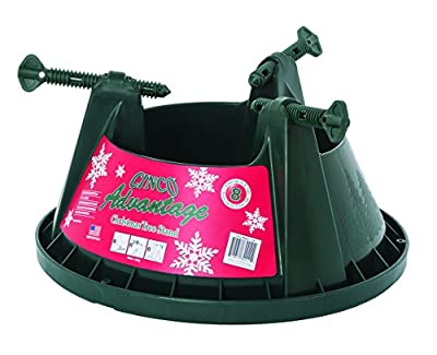 Cinco Advantage 8 Tree Stand for Trees Up To 8 Feet (2.5 Meters) Tall, Dark Green