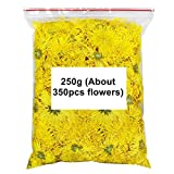 Sweet Golden Yellow Chrysanthemum Tea 250g (8.81 ounce) (About 350pcs flower) - Chinese Healthy Diet...