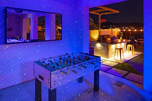Product Image 9: BlissLights Sky Lite – Laser Star Projector w/ LED Nebula Cloud for Game Room Decor, Bedroom Night Light, or Mood Lighting Ambiance (Green, Blue)