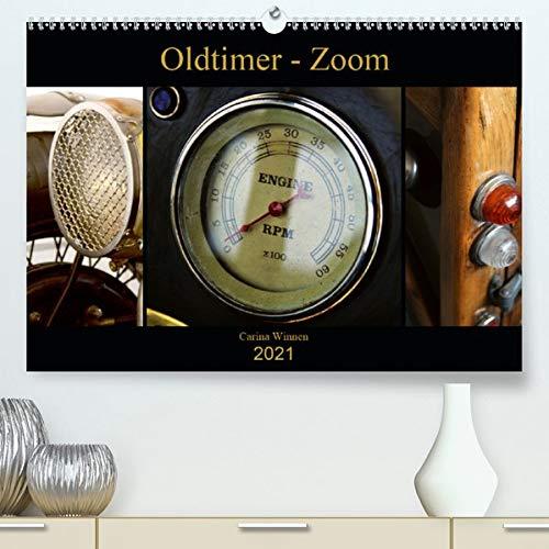 Oldtimer - Zoom (Premium, hochwertiger DIN A2 Wandkalender 2021, Kunstdruck in Hochglanz): Die schönsten Detailaufnahmen von Oldtmern (Monatskalender, 14 Seiten ) (CALVENDO Mobilitaet)