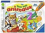 Ravensburger - Jeu électronique interactif tiptoi - Tous mes animaux - Jeux électroniques éducatifs sans écran et en français - Enfants à partir de 3 ans - 00838