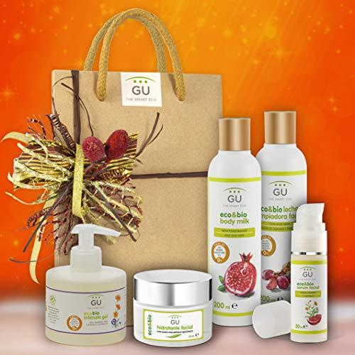 Pack Regalo Mujer Productos ecológicos - Hidratación e Higiene facial y corporal - Cremas y cosméticos naturales