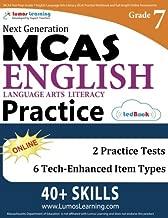 MCAS Test Prep: Grade 7 English Language Arts Literacy (ELA) Practice Workbook and Full-length Online Assessments: Next Generation Massachusetts Comprehensive Assessment System Study Guide