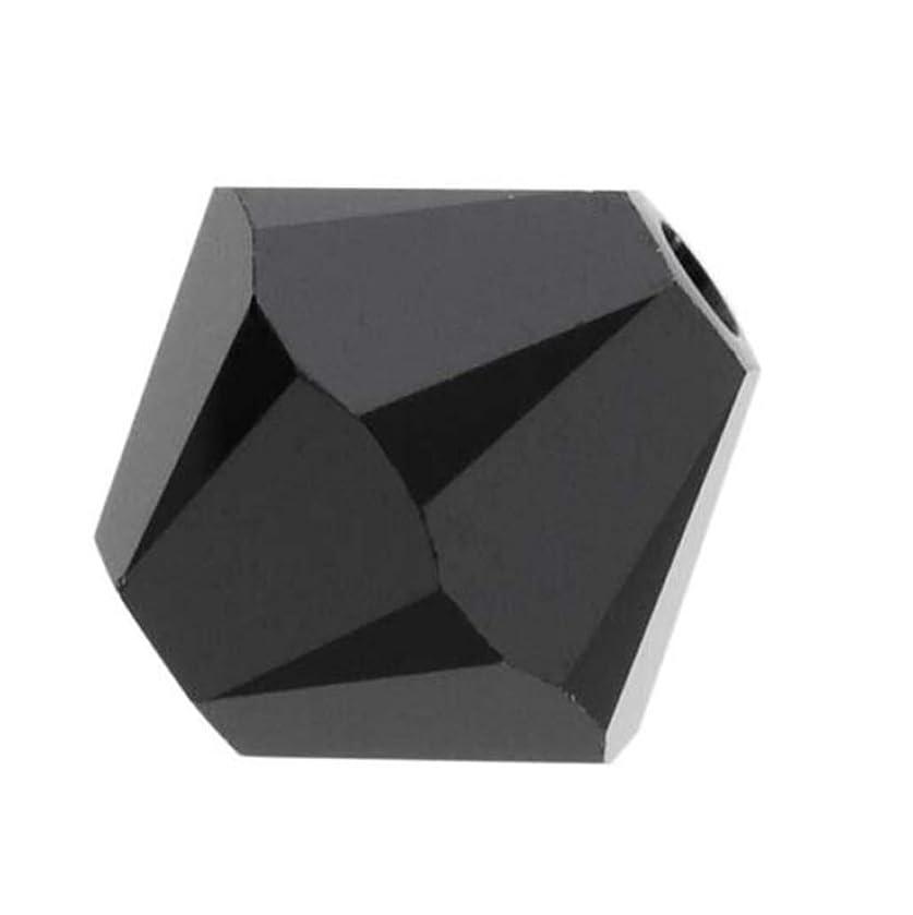 50pcs Genuine Preciosa Bicone Crystal Beads 6mm Jet Black Alternatives For Swarovski #5301/5328 #preb623
