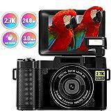 Digitalkamera Fotoapparat Digitalkamera 24 MP Full HD 2