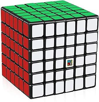 D-FantiX Moyu Cubing Classroom Meilong 6x6 Speed Cube 6x6x6 Magic Cube Puzzle Toy Black