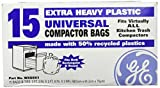 General Electric WX60X1 Trash Compactor Bags, 2FT. 3IN. X 2FT. 8IN. X 3 MIL, 0
