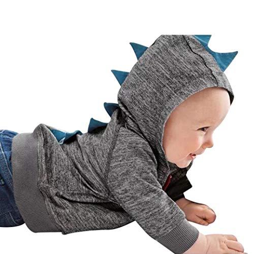 Unisex Bambine E Bambino Modello di Dinosauro con Cappuccio Zip Felpa Tops Animale Mantello del Cappotto di Inverno della Pelliccia della Neonata Giacca Abbigliamento Giacca Ragazzo E Ragazza