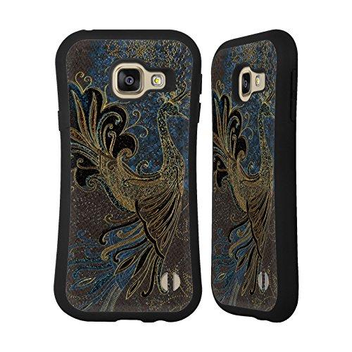 Head Case Designs Offizielle Turnowsky Goldene Schönheit Nebel Hybride Huelle kompatibel mit Samsung Galaxy A3 (2016)
