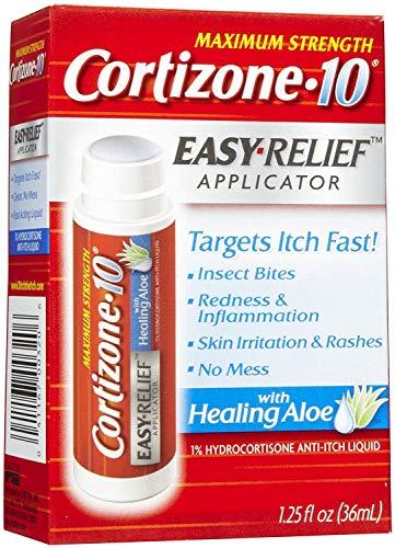 Cortizone-10 Easy Relief Applicator Anti-Itch Liquid 1.25 oz