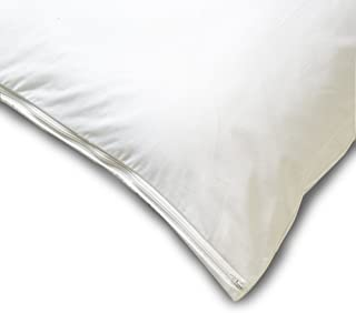 Allersoft Square Cotton Dust Mite and Allergy Control Pillow Protector, 26 by 26-Inch