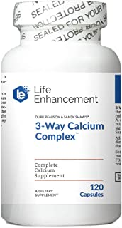 Life Enhancement 3-Way Calcium Complex -- 120 Capsules