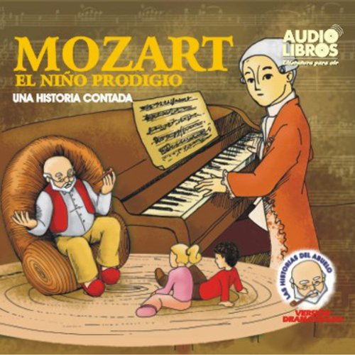 Mozart, El Nino Prodigo audiobook cover art