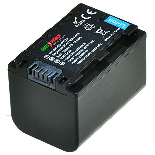 ChiliPower NP-FH70, NP-FH60, NP-FH100 Akku für Sony DCR-DVD650, DCR-HC20, DCR-HC21, DCR-HC22, DCR-HC48, DCR-HC51, DCR-HC52, DCR-HC53, DCR-HC62, DCR-SR42, DCR-SR45, DCR-SR65, DCR-SR82, DCR-SR85, DCR-SR200, HDR-CX7, HDR-CX100, HDR-HC9, HDR-SR7, HDR-SR8, HDR-SR10, HDR-SR11, HDR-SR12, HDR-XR500V
