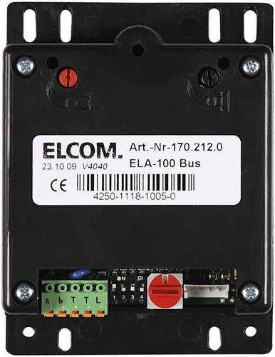 Elcom EB-Türlautsprecher ELA-100 Türstation für Türkommunikation 4250111810050
