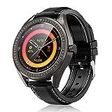 COULAX SmartWatch, 1.3 Zoll Touch Farbdisplay Fitness Armbanduhr mit Pulsuhr, IP68 wasserdichte...