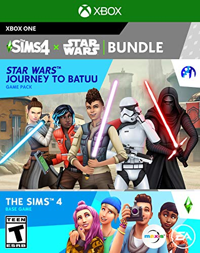 The Sims 4 Plus Star Wars Journey to Batuu Bundle - Xbox One