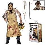 ETbotu Texas Chainsaw Massacre Leatherface 7'Action Figure 40th Anniversary Doll