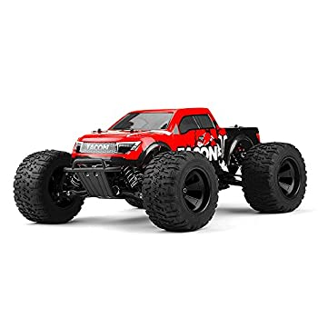 1/14 Tacon Valor Monster Truck Brushed Ready to Run 2.4ghz  Red