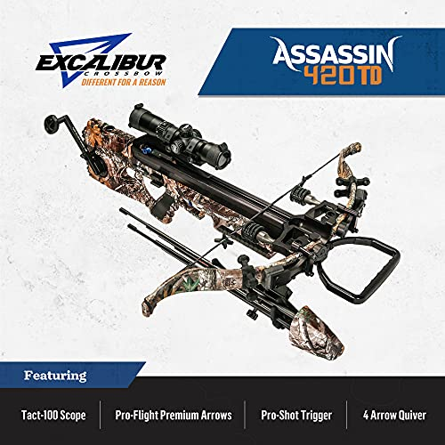 Excalibur Assassin 420 TD – RTE with Tact 100 Scope