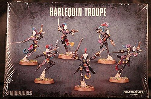 Warhammer 40k - Harlequin Troupe