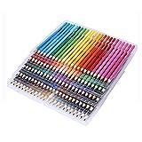 Lápices de colores de 120 lápices de madera de colores para artista, pintura al óleo, dibujo, bolígrafo, bocetos, suministros de arte para estudiantes o niños