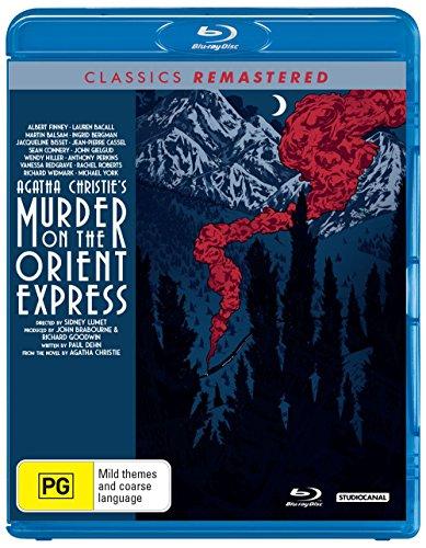 Mord im Orient-Expreß / Murder on the Orient Express (1974) ( ) [ Australische Import ] (Blu-Ray)
