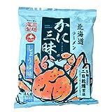 北海道 ラーメン かに 三昧 みそ味 2食セット「かに 味噌ラーメン」かに 風味 みそ味 2食セット(乾麺 スープ付)かに/蟹/カニ ラーメン