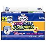 アテント 紙パンツ用 尿とりパッド 4回吸収 28枚 15.5×52cm ぴったり超安心 パンツ式用