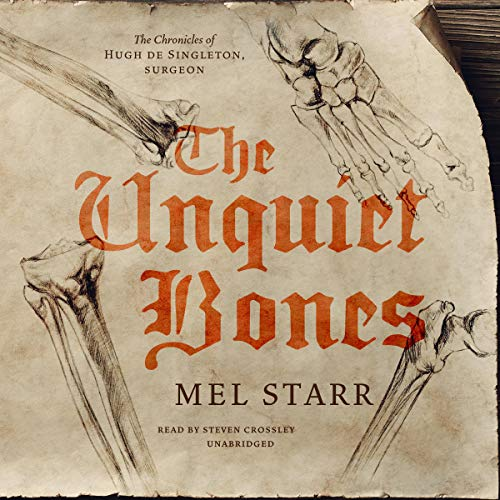 The Unquiet Bones audiobook cover art