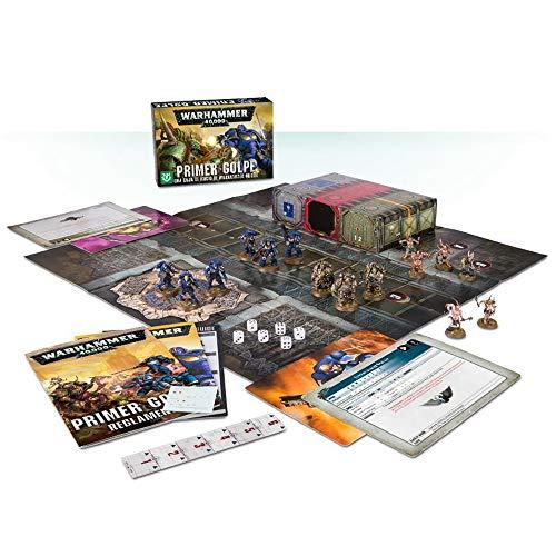 Games Workshop 03100199018 - Primer Golpe Caja de Inicio de Warhammer 40000 - 15 Figuras, Tablero,...