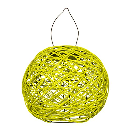 Garden Kraft 12590 Rotan Solar lantaarn - geel