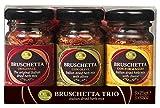 OIL & VINEGAR Bruschetta Seasoning Herb Mix, Variety Pack (0.88oz. Jars x 3) (Olive, Formaggio,...