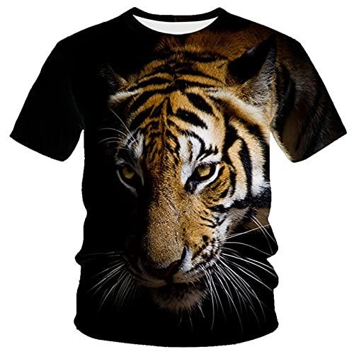 XDJSD Camiseta para Hombre Camiseta Corta De Manga Corta Camiseta De Gran Tamaño Camiseta con Cuello Redondo Superior Camiseta para Hombre Camiseta Estampada con Cuello Redondo Y Manga Corta