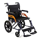 KosmoCare Tranz Dzire Aluminium Folding Wheelchair with Seat Belt