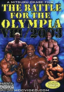 The Battle for Olympia 2003: Volume 8
