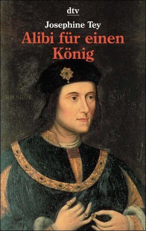 Buchseite und Rezensionen zu 'Alibi für einen König' von Josephine Tey