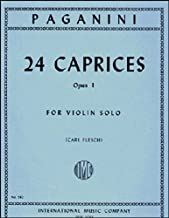 Best paganini caprices sheet music Reviews