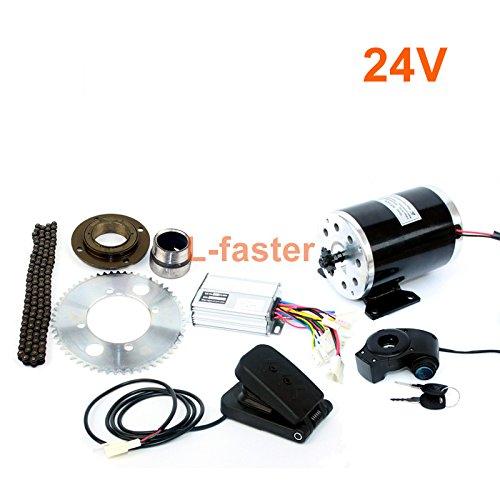 L-faster Elektro - Motorrad - kit 25h 500w mit kettenantrieb high - Speed - Elektro - Roller ersatz Elektro - Kart Conversion kit (24V Pedal kit)